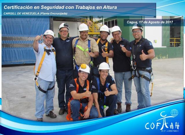 Certificacion en Seguridad con Trabajos en Altura (CARGILL) Cagua