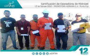 Certificación de Operadores de HidroJet (PROMADRICA) Punto Fijo