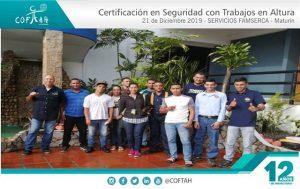 Certificación en Seguridad para Trabajos en Altura (SERVICIOS FAMSERCA) Maturín