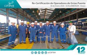Re-Certificación de Operadores de Grúas Puentes (SCHLUMBERGER) Anaco