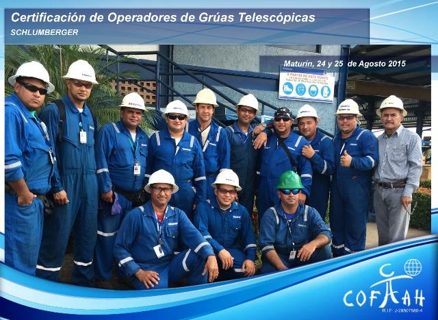 Certificación de Operadores de Grúas Telescópicas (SCHLUMBERGER) Maturín - Venezuela