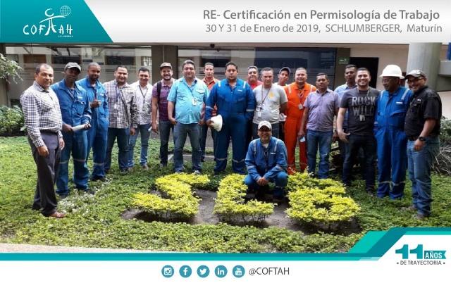 Re-Certificación en Permisología de Trabajo (SCHLUMBERGER) Maturín