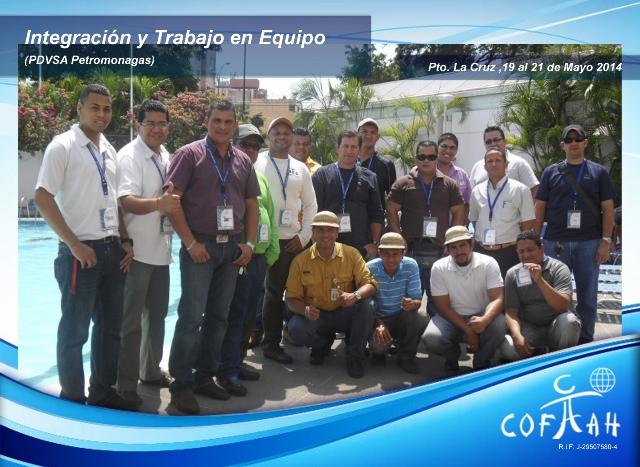 Integración y Trabajo en Equipo (PDVSA Petromonagas) Pto. La Cruz