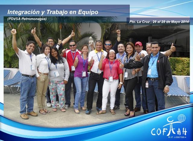 Integración y Trabajo en Equipo (PDVSA Petromonagas) Puerto La Cruz