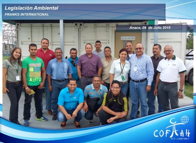 Legislación Ambiental (FRANKS International) Anaco