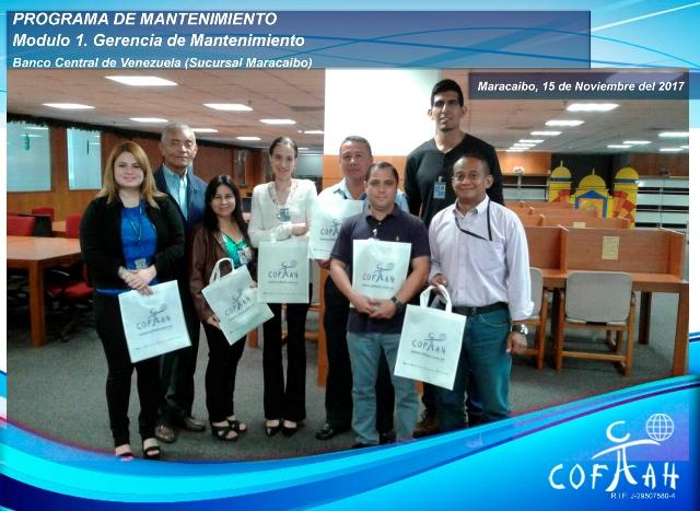 Programa de Mantenimiento - Modulo 1 (BCV) Maracaibo