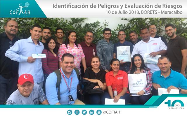 Identificación de Peligros y Evaluación de Riesgos (BORETS) Maracaibo