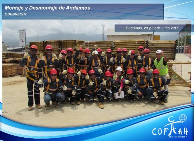 Montaje y Desmontaje de Andamios (ODEBRECHT) Guarenas