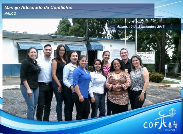 Manejo Adecuado de Conflictos (NALCO) Anaco