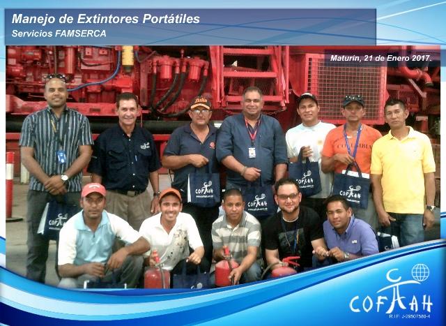 Manejo de Extintores Portátiles (Servicios FAMSERCA) Maturín