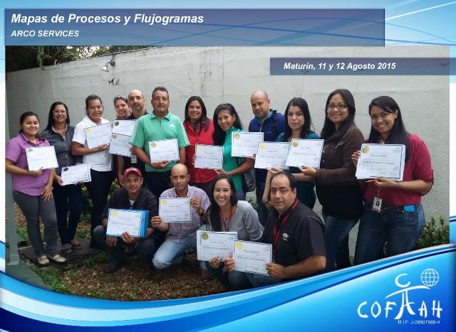 Mapas de Procesos y Flujogramas (ARCO Services) Maturín