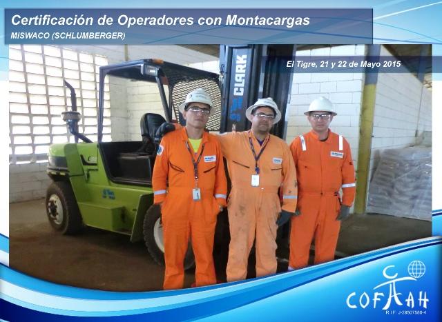 Certificación de Operadores con Montacargas (MI SWACO) El Tigre