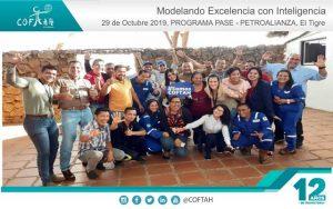 Programa PASE – Modelando Excelencia con Inteligencia (PETROALIANZA) El Tigre