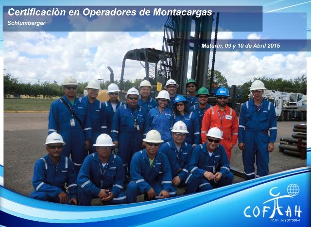 Certificación en Operadores de Montacargas (SCHLUMBERGER) Maturín