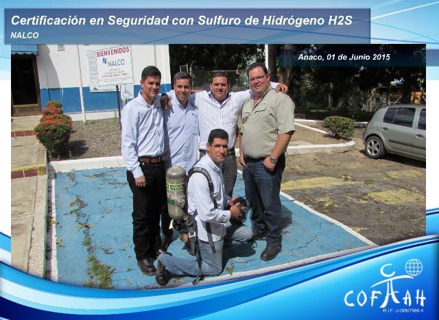 Certificación en Seguridad con el Sulfuro de Hidrogeno - H2S (NALCO) Anaco