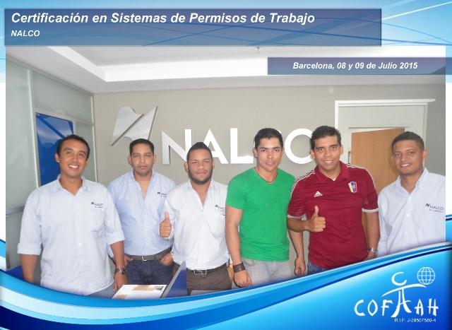 Certificación en Sistema de Permisos de Trabajo (NALCO) Barcelona