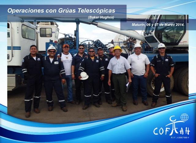 Certificación Operadores de Grúas Telescopicas (BAKER HUGHES) Maturín