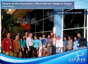 Equipos de Alto Desempeño y Efectividad del Trabajo Equipo (PDVSA) Lecherias