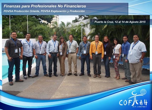 Finanzas para Profesionales No Financieros (PDVSA) Puerto La Cruz