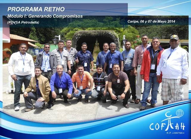 Programa RETHO - Generando Compromisos (PDVSA Petrodelta) Caripe