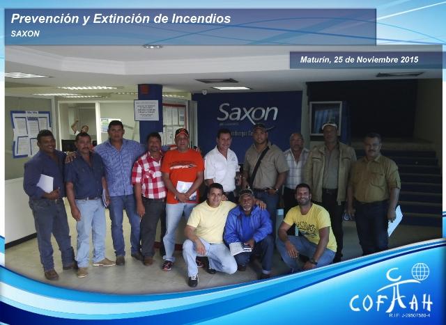 Prevención y Extinción de Incendios (SAXON) Maturín - Venezuela