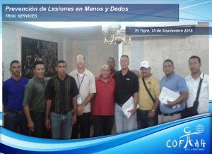 Prevención de Lesiones en Manos y Dedos (TROIL Services) El Tigre