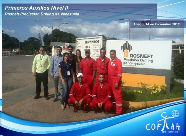 Primeros Auxilios Nivel II (ROSNEFT) Anaco