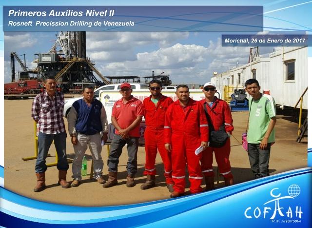 Primeros Auxilios Nivel II (ROSNEFT) Morichal