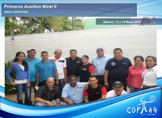 Primeros Auxilios Nivel II (ARCO Services) Maturín