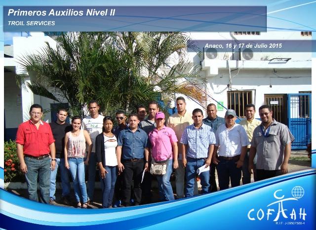 Primeros Auxilios Nivel II (TROIL Services) Anaco