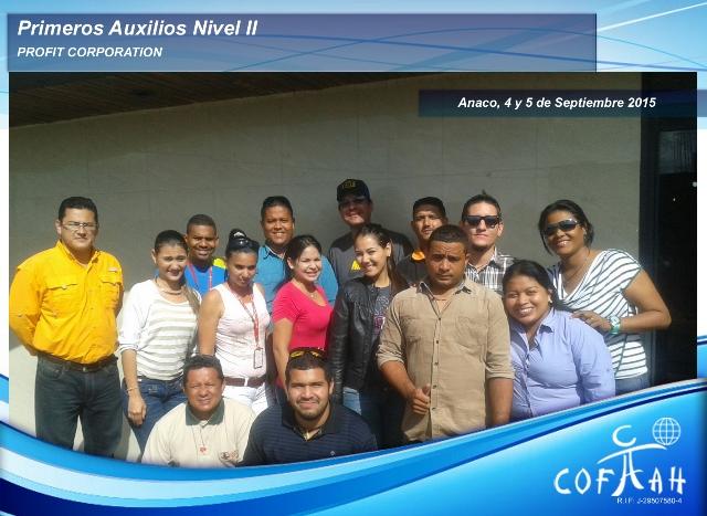 Primeros Auxilos Nivel II (PROFIT Corporation) Anaco