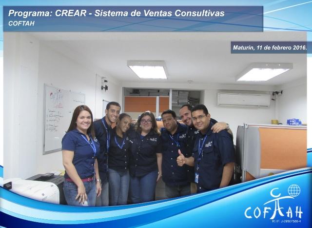Programa CREAR - Sistema de Ventas Consultivas (COFTAH) Maturín
