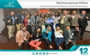 Programa PASE – Nacimos para Ser Felices (BANCO EXTERIOR) Caracas