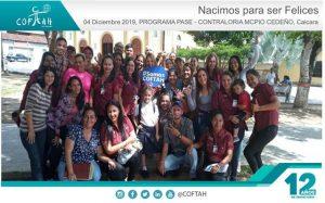 Programa PASE – Nacimos para Ser Felices (CONTRALORIA MUNICIPIO CEDEÑO) Caicara