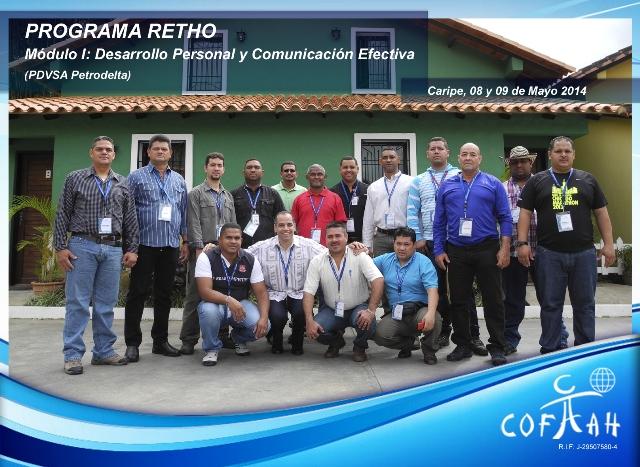 Programa RETHO - Desarrollo Personal y Comunicación  (PDVSA Petrodelta) Caripe