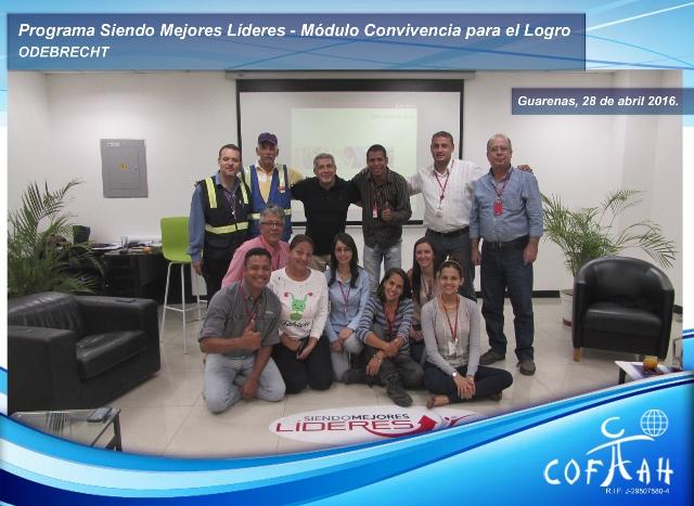 Programa: Siendo Mejores Líderes – Módulo Convivencia para El Logro (ODEBRECHT) Guarenas
