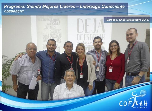 Programa: Siendo Mejores Líderes – Módulo Liderazgo Consciente (ODEBRECHT) Caracas