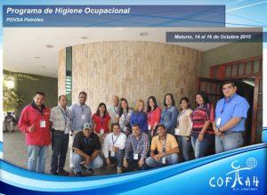 Programa de Higiene Ocupacional (PDVSA) Maturín