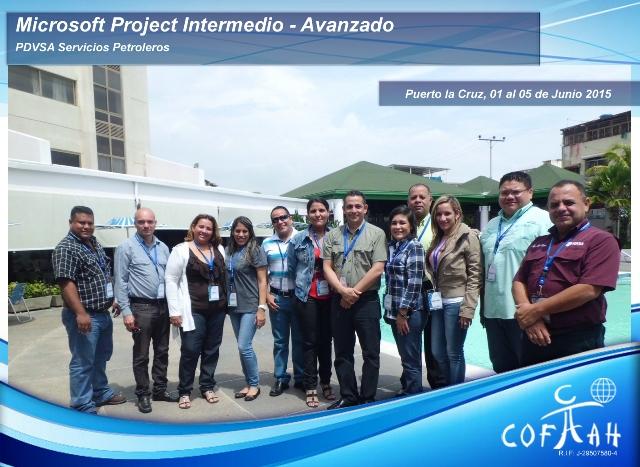 Microsoft Project Intermedio - Avanzando (PDVSA Servicios) Puerto La Cruz