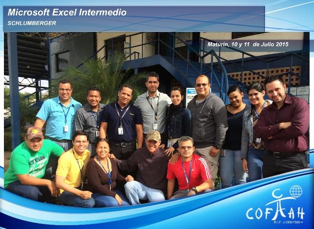 Microsoft Excel Intermedio (SCHLUMBERGER) Maturín