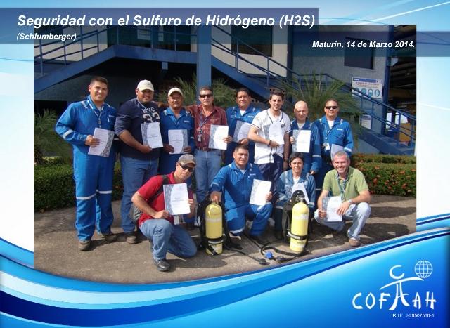 Certificación en Seguridad con el Sulfuro de Hidrogeno (SCHLUMBERGER) Maturin