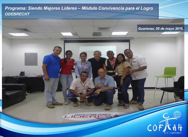 Programa: Siendo Mejores Líderes – Módulo Convivencia para El Logro (ODEBRECHT) Guarenas -