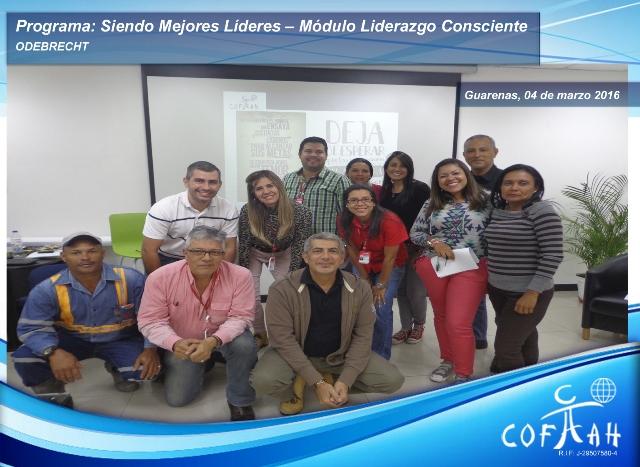 Programa: Siendo Mejores Líderes - Módulo Liderazgo Consciente (ODEBRECHT) Guarenas