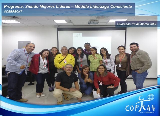 Programa: Siendo Mejores Líderes – Módulo Liderazgo Consciente (ODEBRECHT) Guarenas