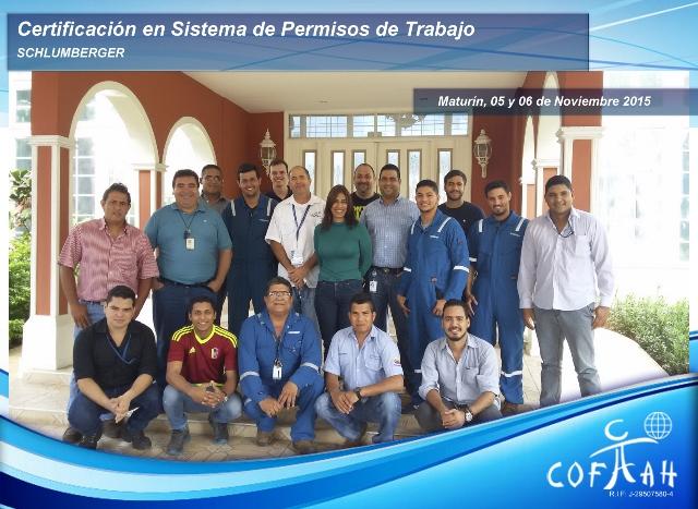 Certificación en Sistema de Permisos de Trabajo (SCHLUMBERGER) Maturín