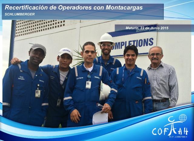 Re-Certificación de Operadores con Montacargas (SCHLUMBERGER) Maturín