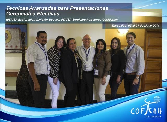 Técnicas Avanzadas para Presentaciones Gerenciales Efectivas (PDVSA) Maracaibo