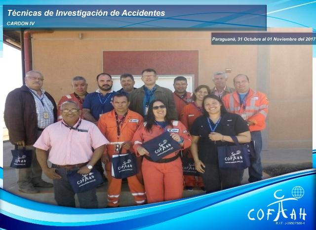 Técnicas de Investigación de Accidentes (CARDON IV) Paraguaná