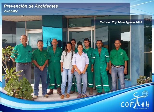 Prevención de Accidentes (VINCOMIX) Maturín