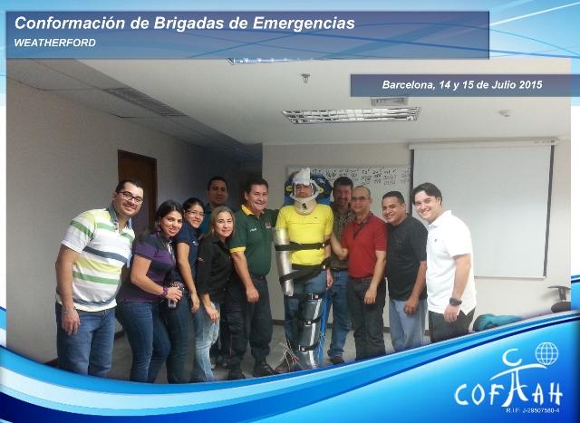 Conformación de Brigadas de Emergencias (WEATHERFORD) Barcelona